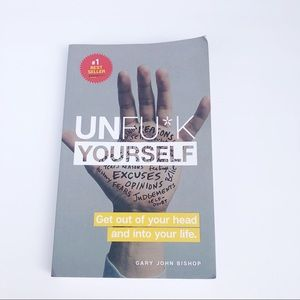 Other - Unf*ck Yourself Motivational Book